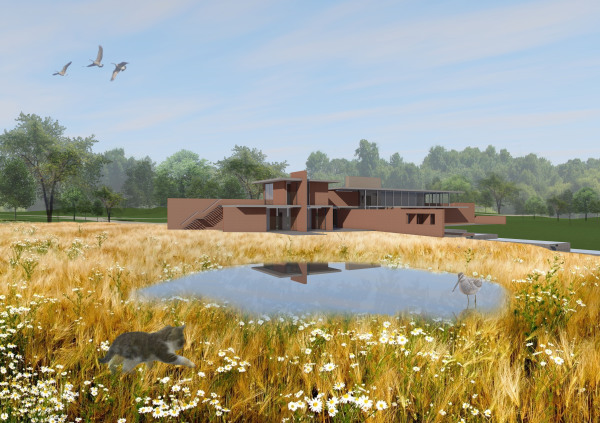 Beautiful House (Design competition entry) by Contemporary and Modern architects Baart Harries Newall (BHN architects) based in Shrewsbury.