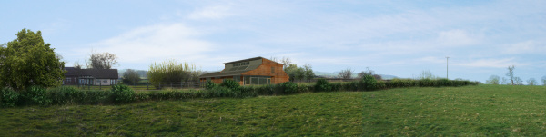 Corvdale Community Centre (Diddlebury, Shropshire) by Contemporary and Modern architects Baart Harries Newall (BHN architects) based in Shrewsbury.