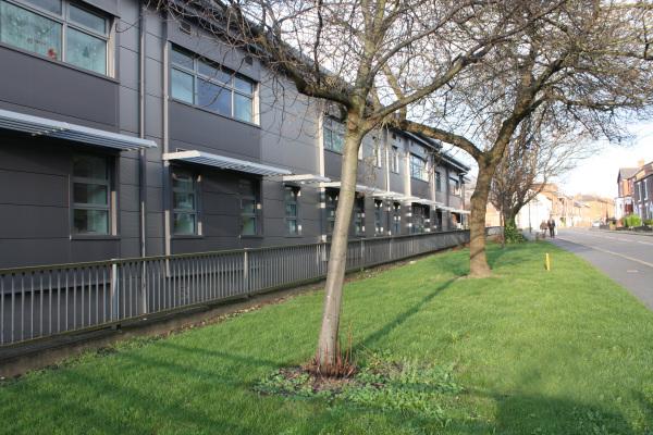 Shrewsbury Fire Station (shrewsbury, Shropshire) by Contemporary, Modern and Conservation architects Baart Harries Newall (BHN architects) based in Shrewsbury.