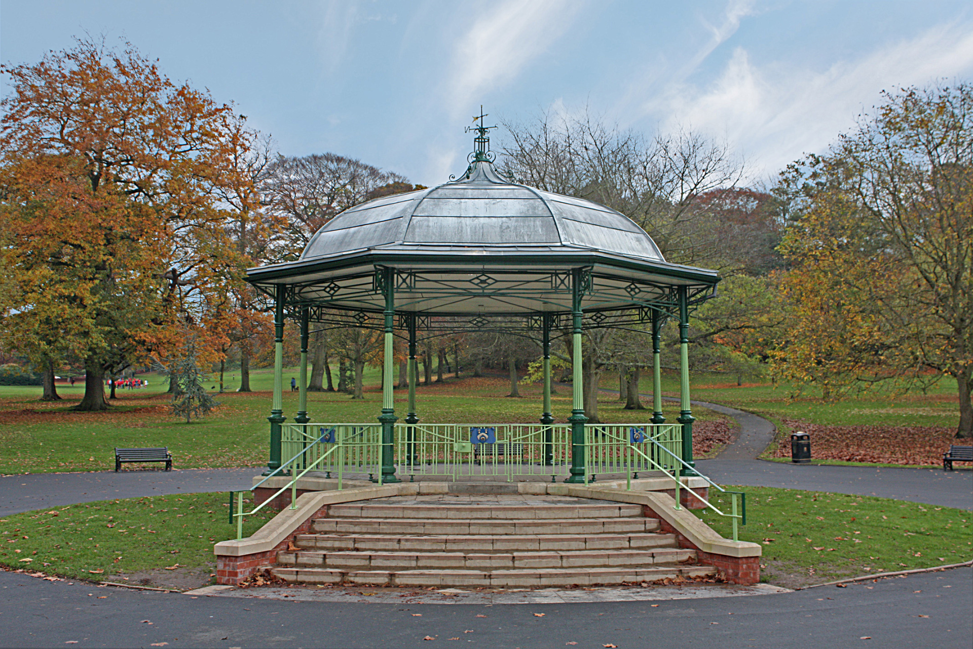 Mary Stevens Park (Stourbridge) by Conservation architects Baart Harries Newall (BHN architects) based in Shrewsbury.