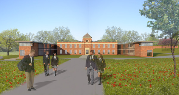 Building Schools for the Future (Worcester) by Contemporary and Modern architects Baart Harries Newall (BHN architects) based in Shrewsbury.
