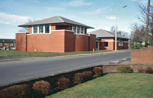Dawley Baptist Church (Telford,) by Contemporary, Modern and Conservation architects Baart Harries Newall (BHN architects) based in Shrewsbury.