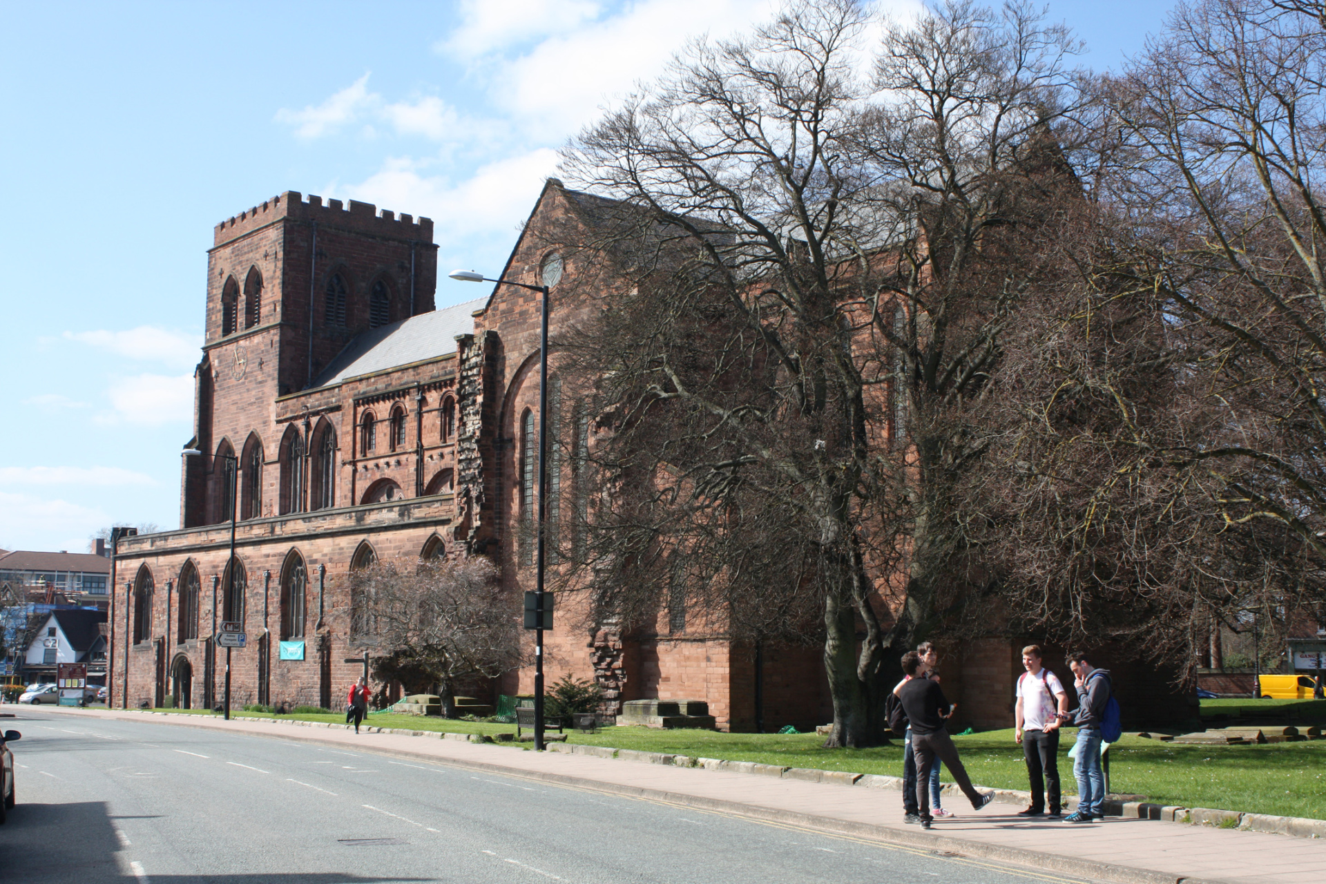 Repair and restoration to Grade 1 Listed Shrewsbury Abbey Church
