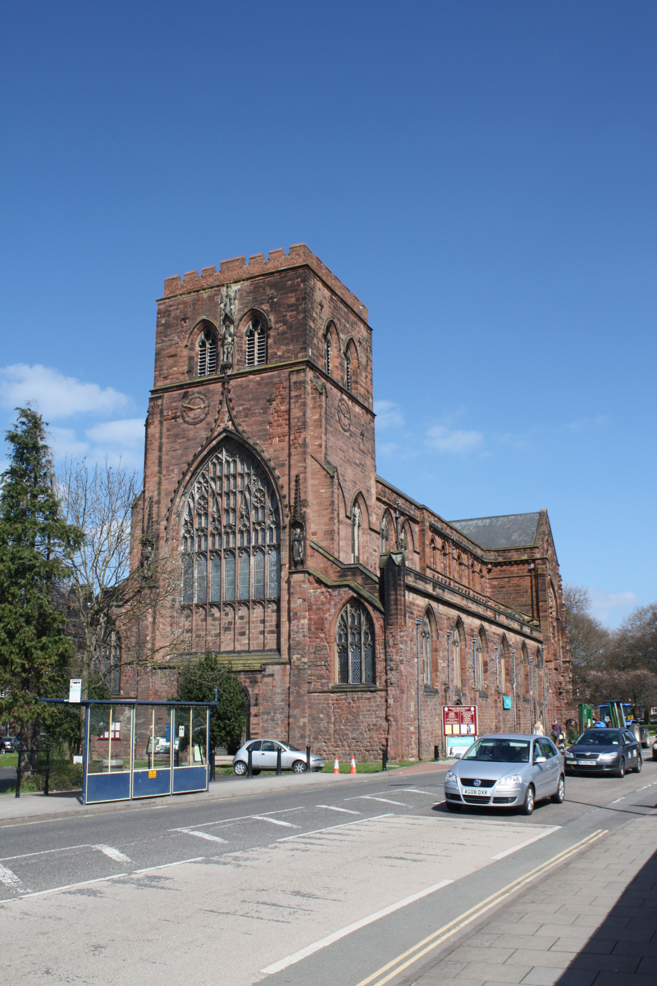 Shrewsbury Abbey (Shropshire) by Conservation architects Baart Harries Newall (BHN architects) based in Shrewsbury.