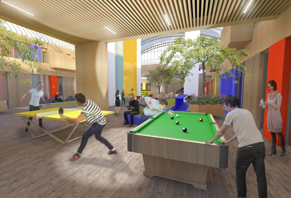 Proposed extension to Walsall Civic Office