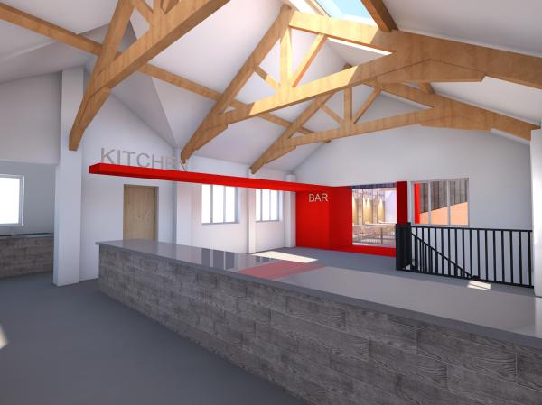 Restaurant Interior by BHN architects