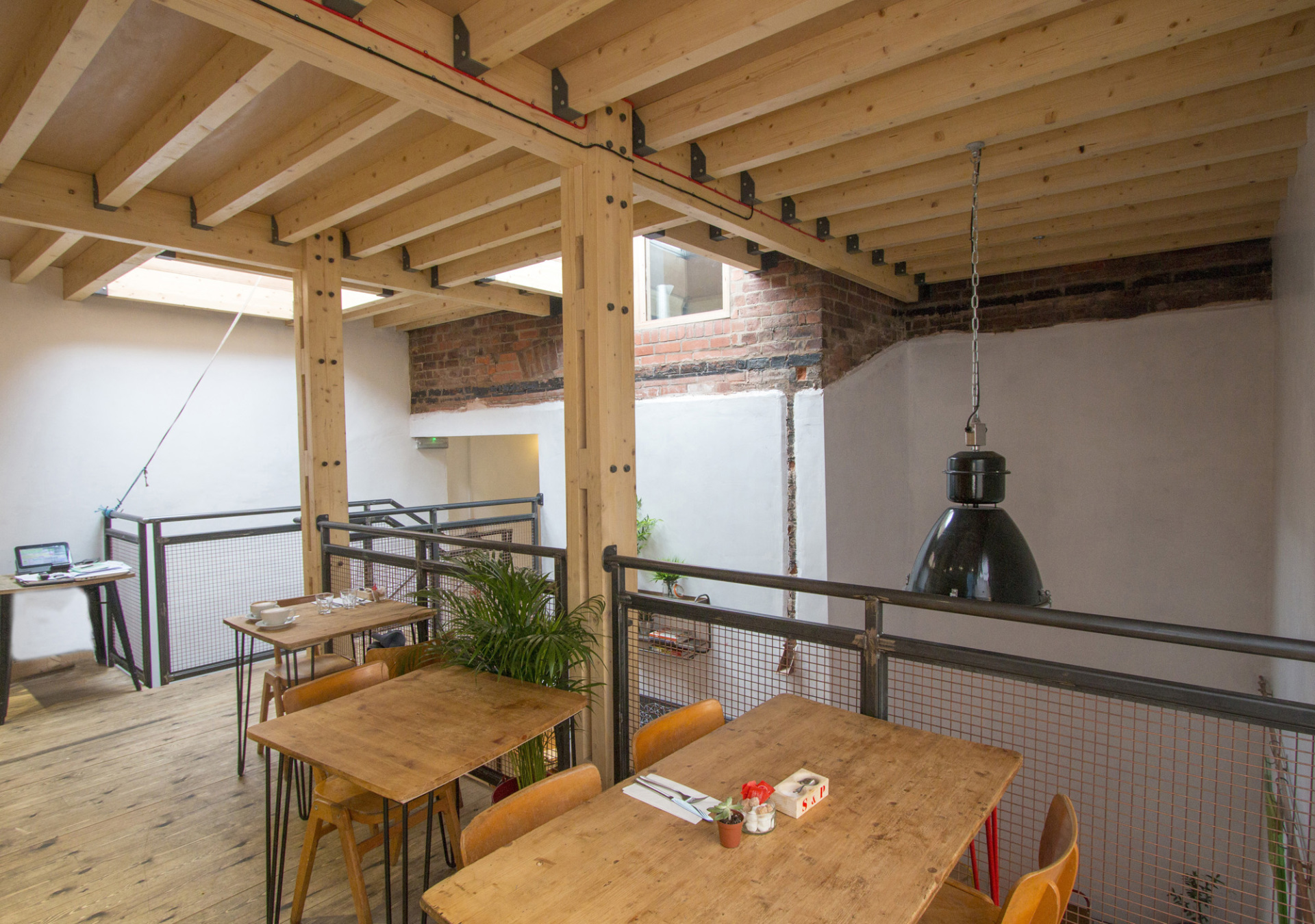 Restaurant Interior and Extension to Grade II Listed Building