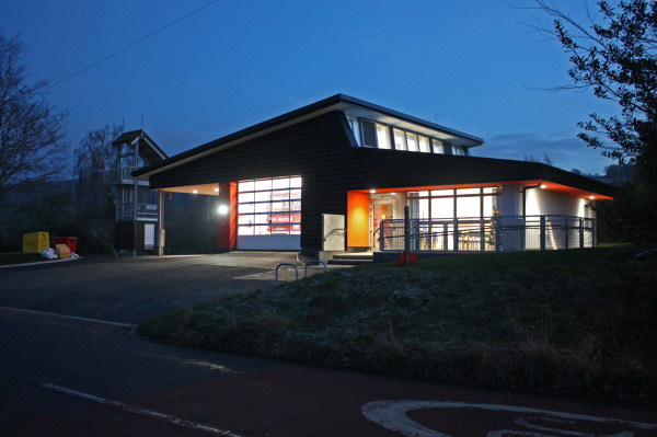 Remodel and Extension to Clun Fire Station