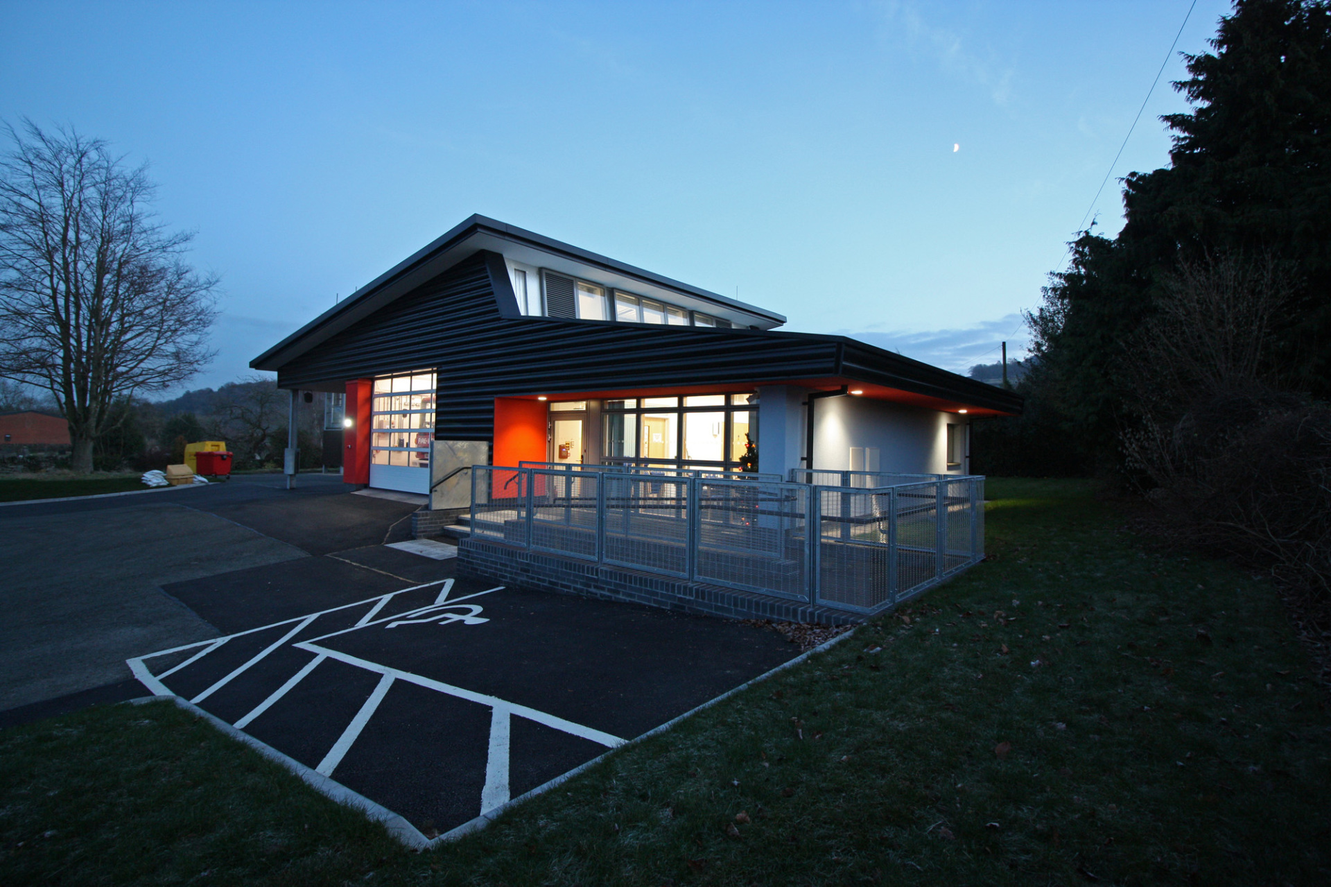 Extension to Clun Fire Station