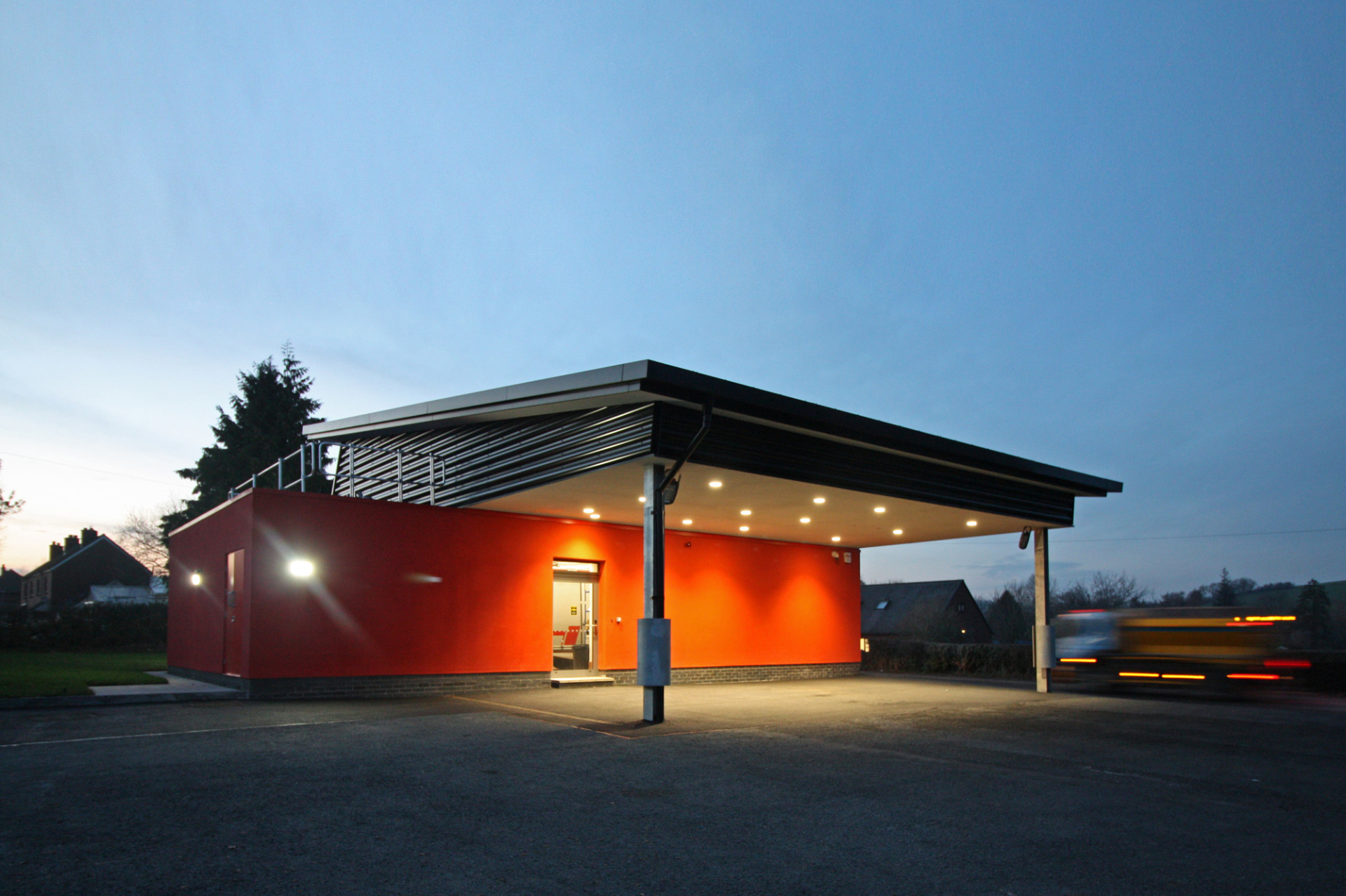 Remodel of Clun Fire Station by BHN