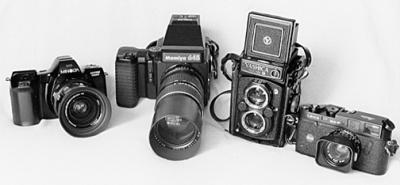 أنواع الكاميرات الفوتوغرافية | Types of Photographic Cameras