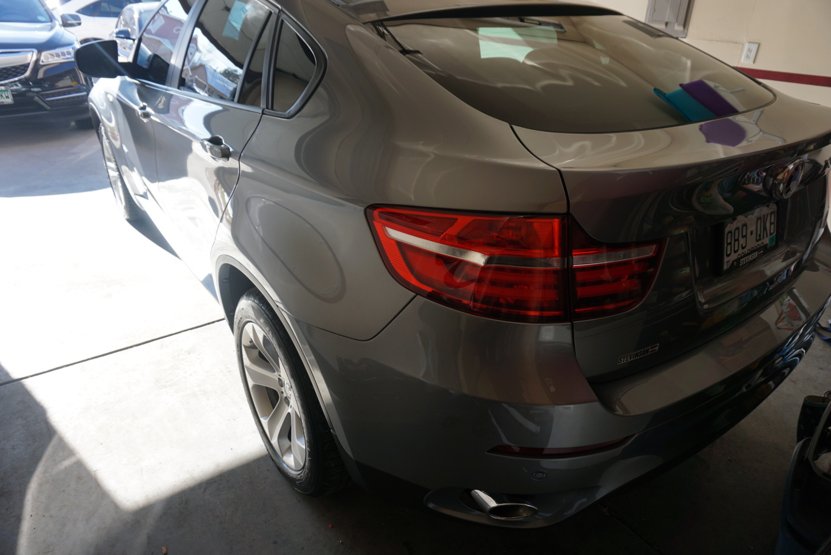 bmw X6 top notch detail