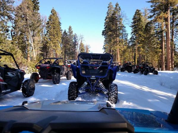 Open Trail Ride with Harts UTV