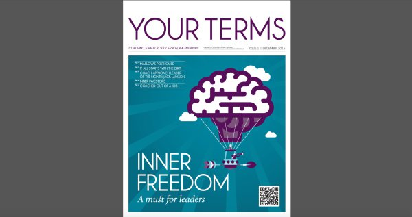 """Your Terms"" - Year #1, Issue #1"