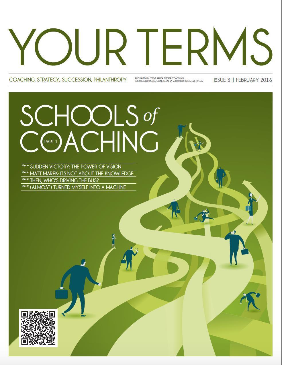 Schools of Coaching Part #1