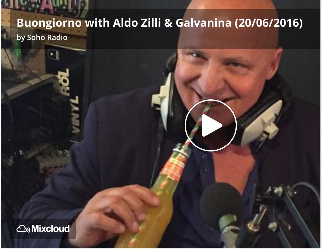 Soho Radio - Interview with Aldo Zilli