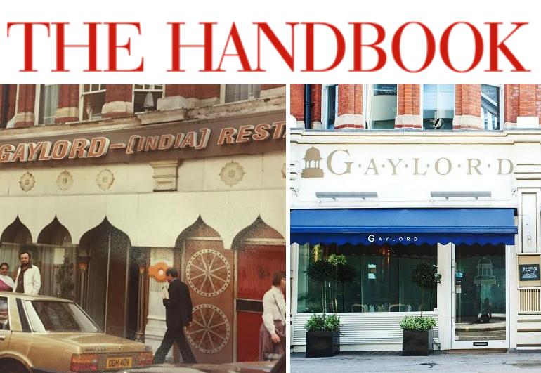 Handbook - Win Tickets to Gaylord's Indian extravaganza!