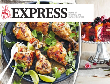 Chilli-lime chicken and swiss berry quilt cake recipes