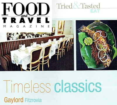Food & Travel November