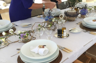 2015 Monaco Yacht Show Table Setting Competition