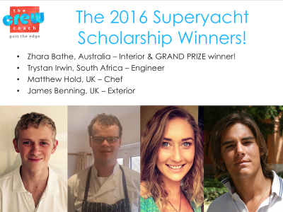 GUEST and PYA support the new Superyacht Scholarship