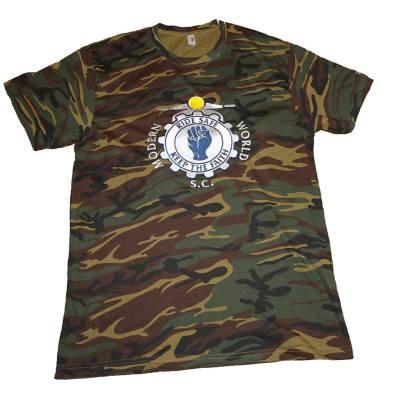 Camo Design T-Shirt