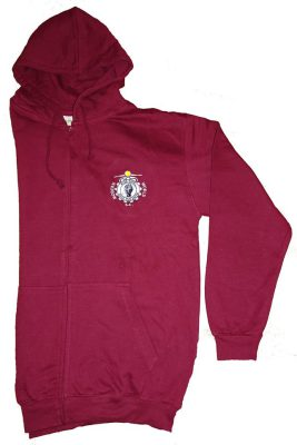 Hooded Sweatshirt Zip Front