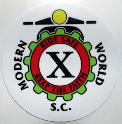 Sticker 10th Anniversary Design