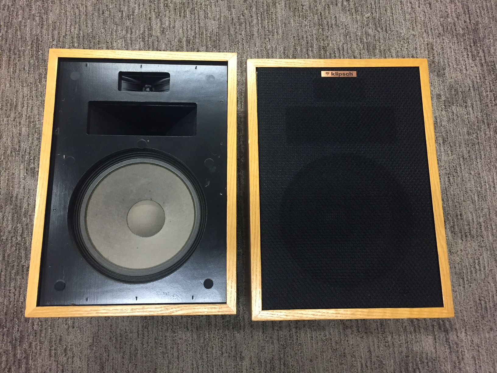 Klipsch Heresy Loudspeakers at Sunny Components, www.sunnyaudiovideo.com