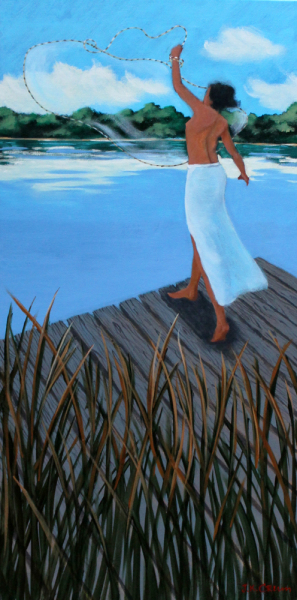 hilton head art, low country art, lowcountry artist, south carolina artist, Figurative paintings by John K. Crum