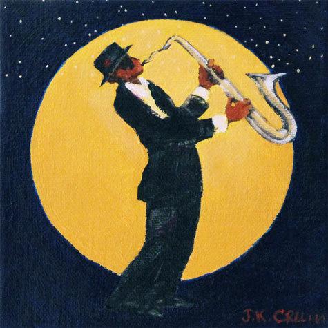 hilton head art, low country art, lowcountry artist, south carolina artist, Jazz Sax, saxaphone player