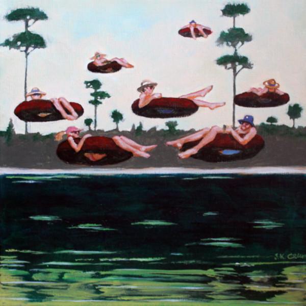 hilton head art, low country art, lowcountry artist, south carolina artist, Figurative paintings by John K. Crum
