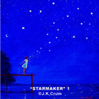 """Starmaker"" #1 gentle surrealism by J. K. Crum"
