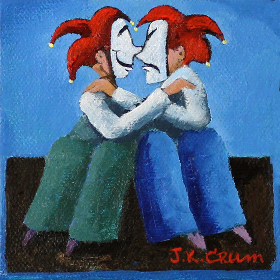 hilton head art, low country art, lowcountry artist, south carolina artist, Laugh, cry, jestors, love, couples