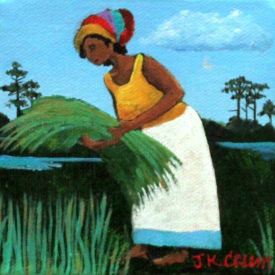 Gullah,, Gullah art, sweetgrass, low country art