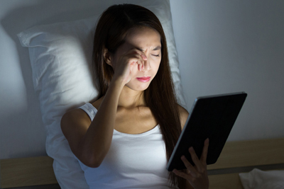 Have dry, tired eye fatigue? this eye strain could be caused by computer vision syndrome.