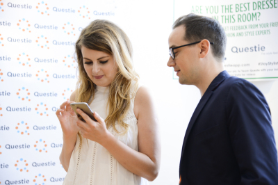 UK based Blogger checking out Questie App