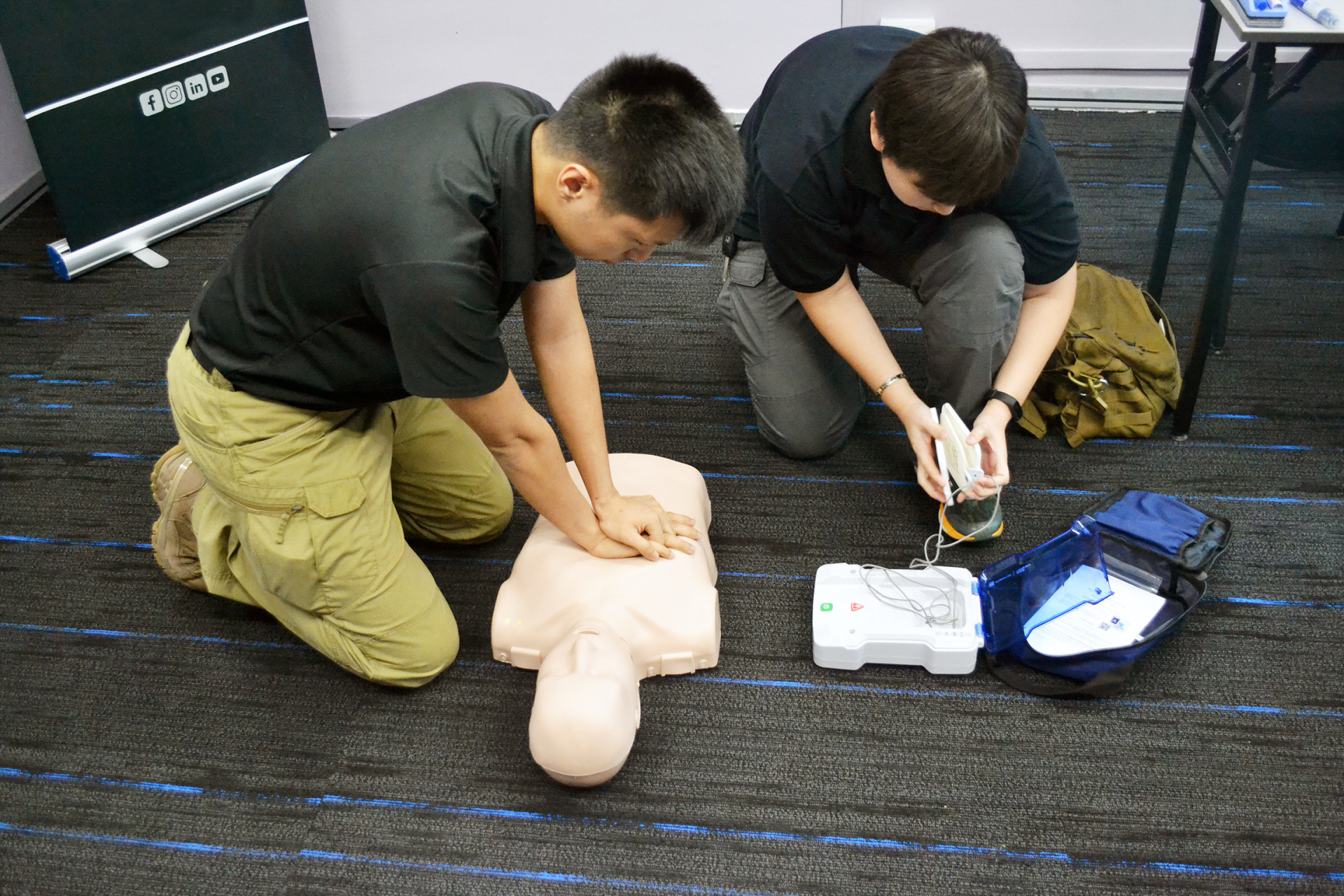 RQF Level 3 First Aid at Work