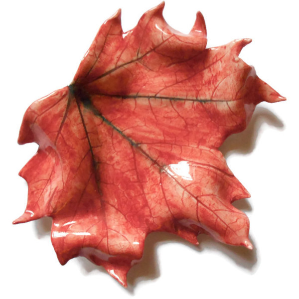 Ceramic Leaf, Porcelain Leaf, Leaf decoration, Ceramics