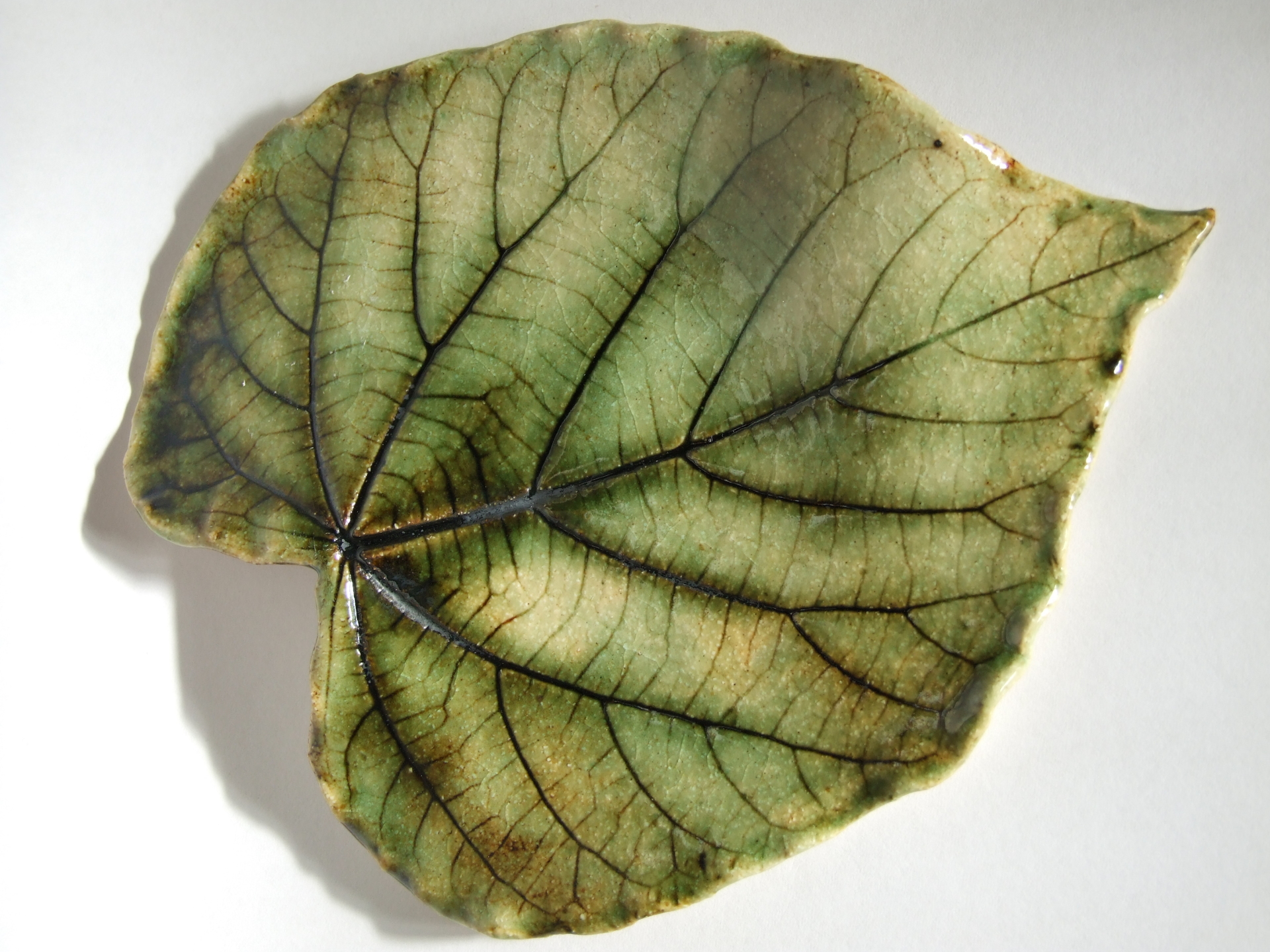 Porcelain, Ceramic, Leaf Platter