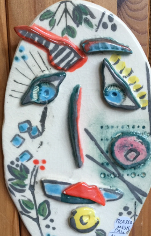 Ceramic Picasso Masks