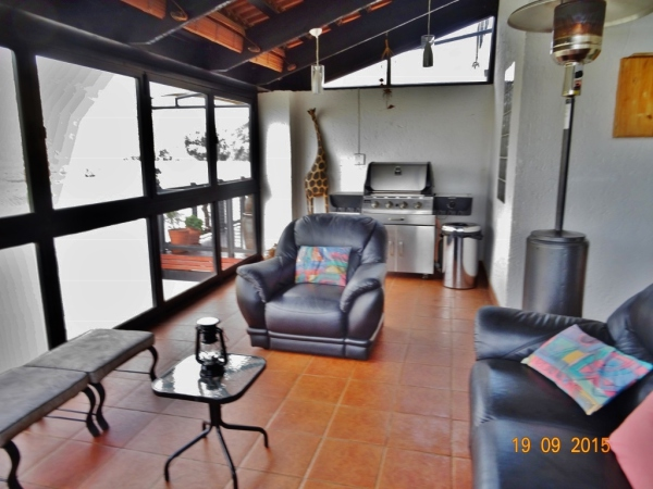 Patio - Holiday accommodation Hartbeespoort