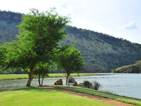 View from pool area - Hartbeespoort accommodation