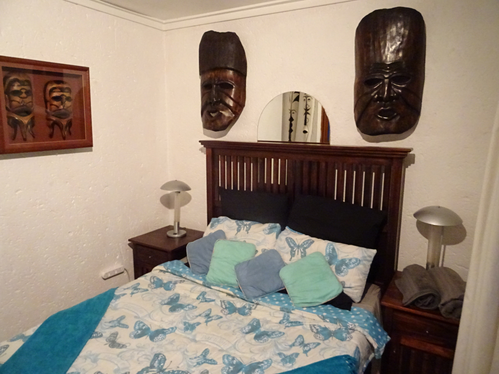 Photo of mask & Queen size bed - Ileven heaven self catering accommodation