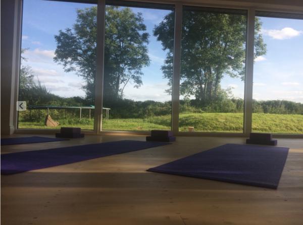 Aruna Yoga Studio rural beautiful countryside rathcoffey