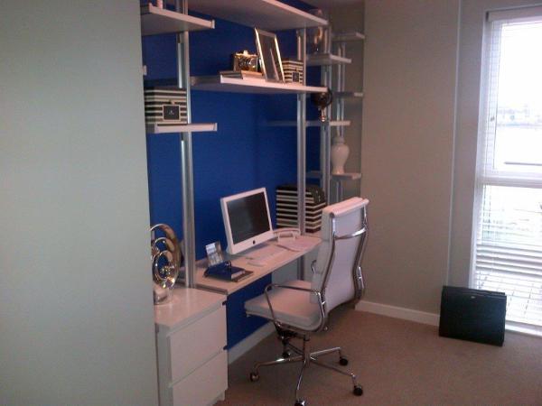 Desk area example.
