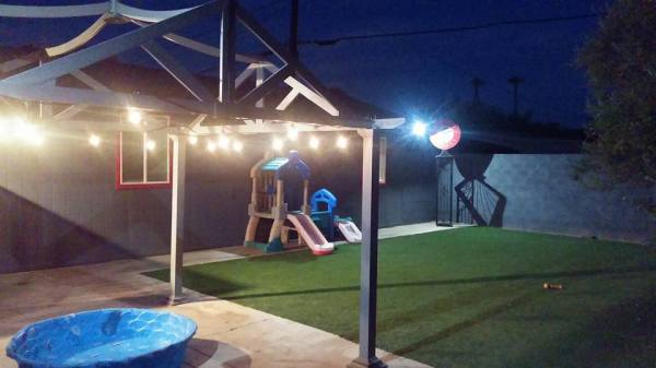 Play Yard Night Time