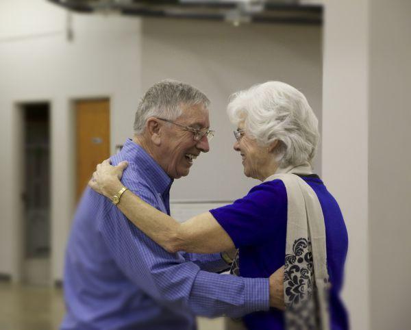 dancing couple waltz