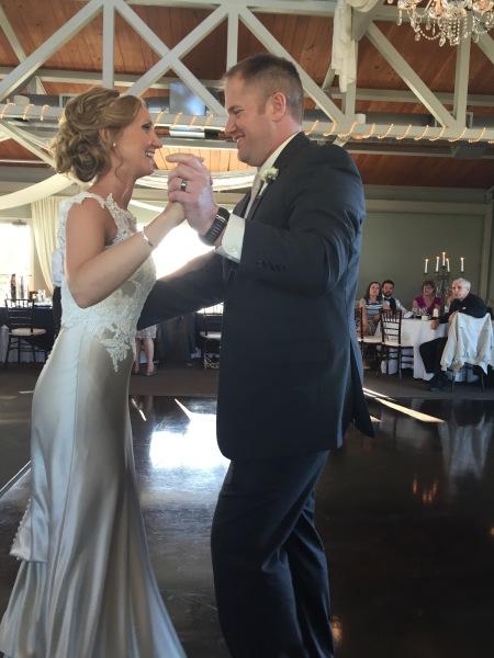 wedding couples dance photo