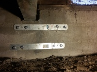 Foundation Crack Grouting and Strapping